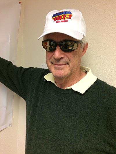 Bob with Hat KOOL 107.1 FM KOOL Oldies