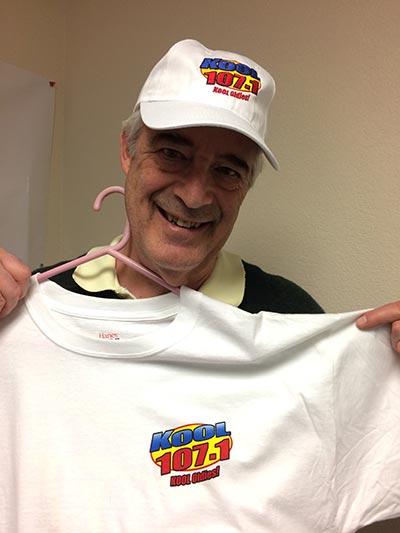 Bob with Hat & T-shirt KOOL 107.1 FM KOOL Oldies