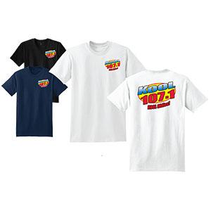 Kool T shirt Big Kool Kool 107.1FM Spokane, WA