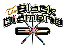 Black Diamond logo KOOL Store Advertising KOOL 107.1FM